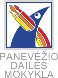Panevežio dailės mokykla logo